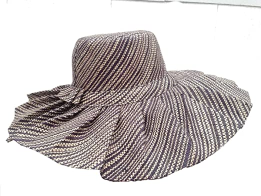XXL Head Wide Brown Madagascar Hat with Ruffles at Amazon Women s ... fb1cb27a848