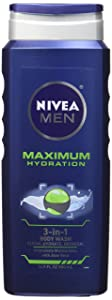 Nivea For Men Maximum Hydration 3-in-1 Body Wash - 16.9 oz