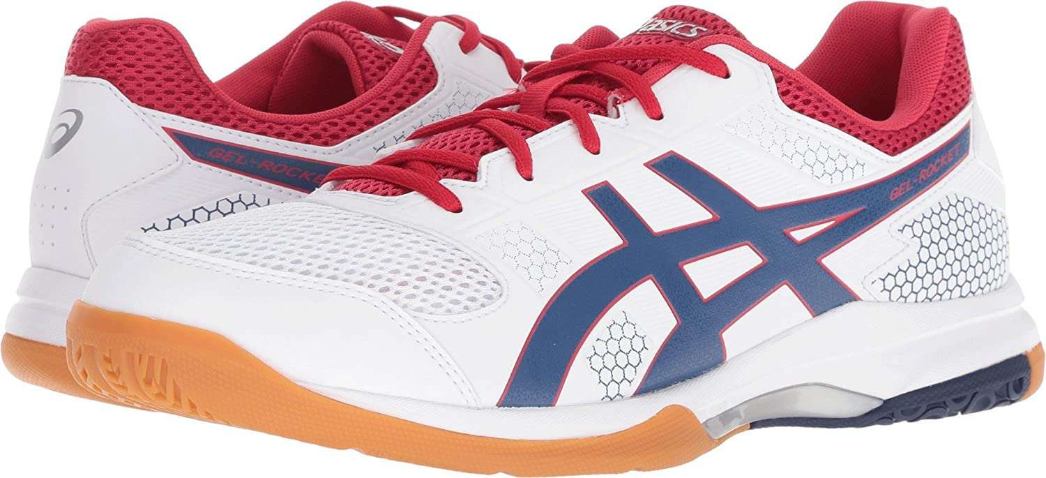 ASICS Mens Gel-Rocket 8 Volleyball Shoe B706Y