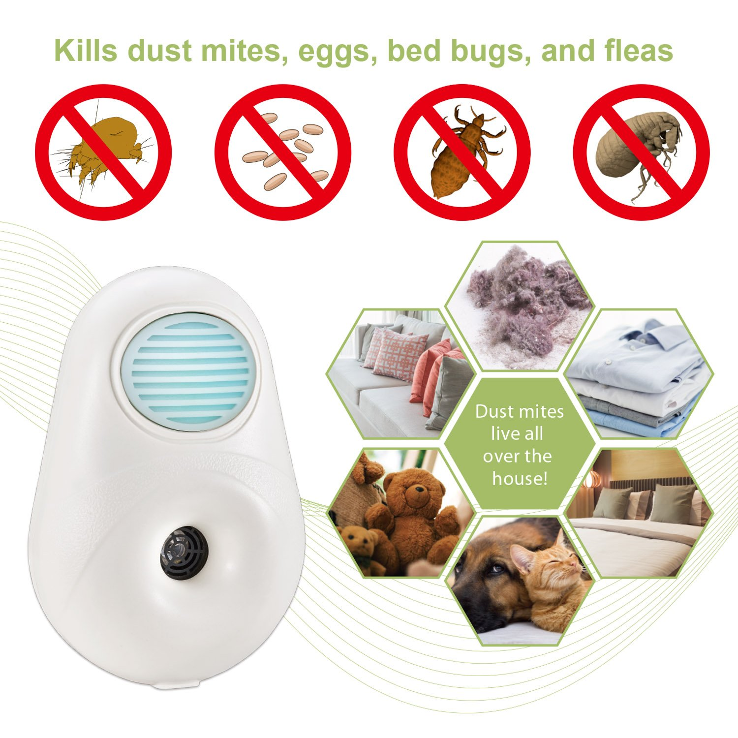 New technology to reduce dust mites: Health & Personal Care