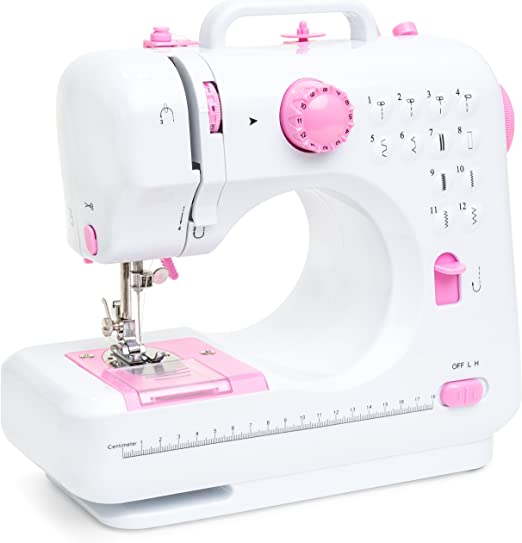 Best Choice Products máquina de coser compacta multifuncional de 6 ...