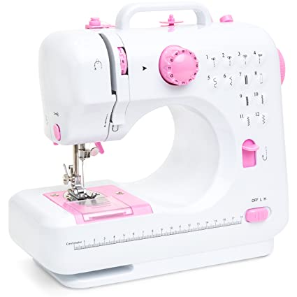 Amazon Best Choice Products 40V Multifunction Compact Sewing Gorgeous Smallest Sewing Machine