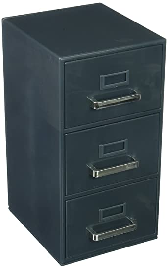 Forum Novelties 3 Drawer Mini Filing Cabinet 9u0026quot;H X 5.5u0026quot ...