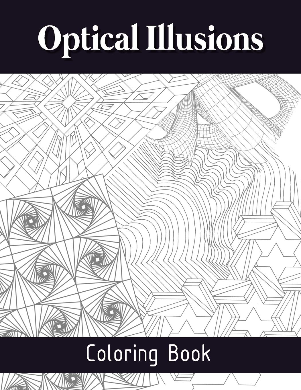 Optical illusions coloring pages | Free Coloring Pages | 1360x1051