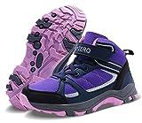Vivay Kids Girls Hiking Boots Trekking Hiking Shoes