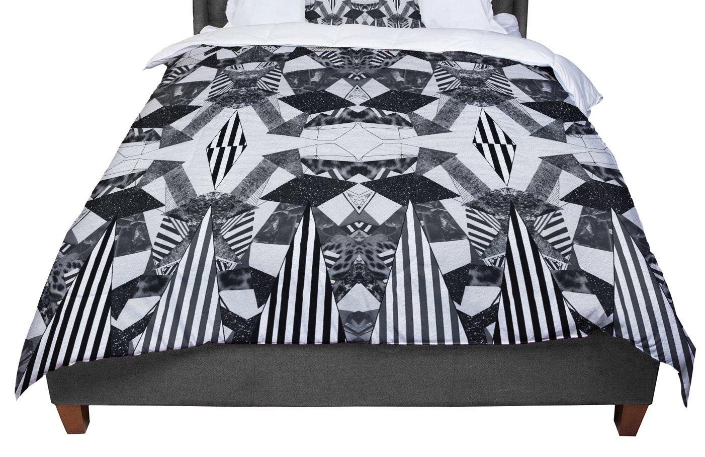 KESS InHouse Vasare Nar 'Tessellation' King/California Comforter, 104' X 88'