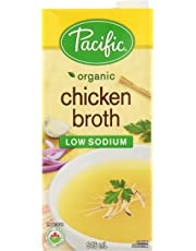 Pacific Foods Organic Low Sodium Chicken Broth, 946ml