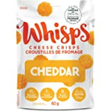 Whisps WHISPS Cheddar Cheese Crisps, Cheddar, 60 Gram