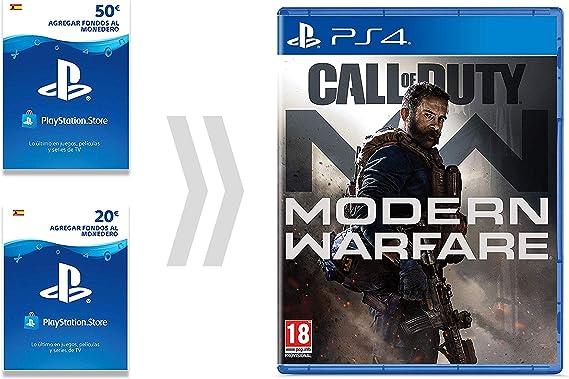 PSN Card para Call of Duty - Modern Warfare | Código de descarga ...