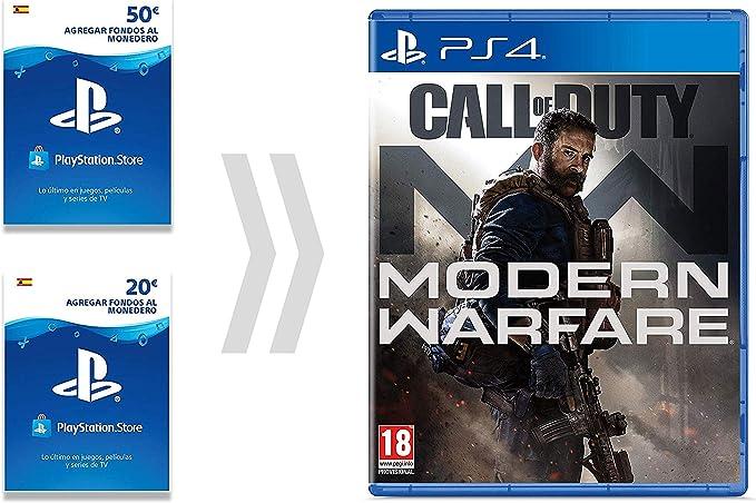 PSN Card para Call of Duty - Modern Warfare   Código de descarga ...