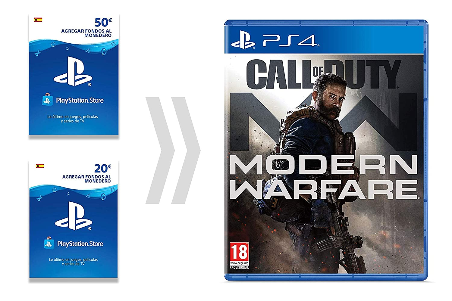 PSN Card para Call of Duty - Modern Warfare | Código de descarga ...