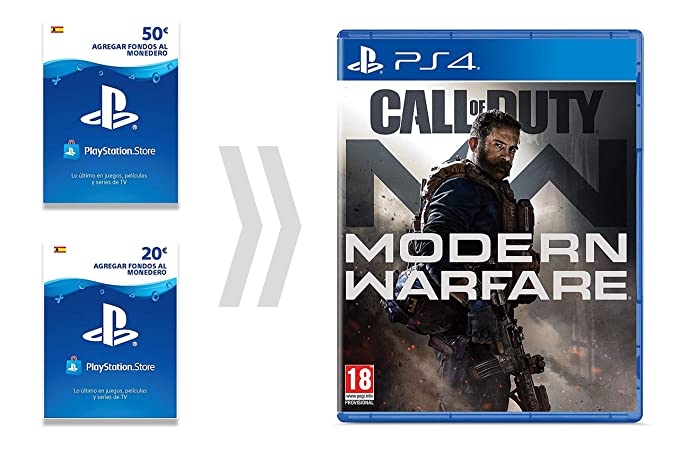 PSN Card para Call of Duty - Modern Warfare | Código de ...