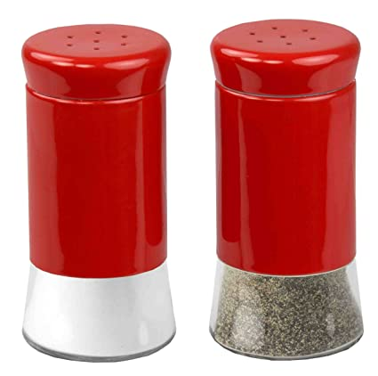 Amazoncom Home Basics Essence Collection Salt And Pepper Shaker