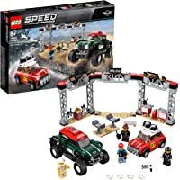 Lego Speed Champions 1967 Mini Cooper S Rally Ve 2018 Mini John Cooper Works Buggy Oyuncak Seti, 481 Parça