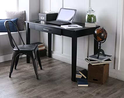 Merveilleux New 4 Foot Wide Desk Black Painted Finish