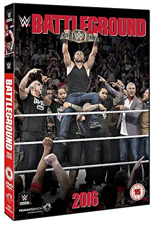 WWE  Battleground 2016  DVD   Amazon.co.uk  Dean Ambrose 2efac53ca