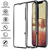 CellBee iPhone X Panzerglasfolie, Curved, mit Applikator, Staubfrei, Notch Unsichtbar, Premium Panzerglas Displayschutzfolie, Full Cover Schutzfolie, Glas Panzerfolie