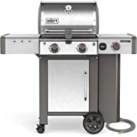 Weber Genesis II LX S-240 2-Burners Natural Gas Grill (Stainless Steel)
