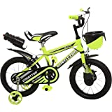 Ollmii™ Bikes, Creattor™ 14 inches (Green) BMX Series,Unisex, Kids Cycle for 3 to 5 Years
