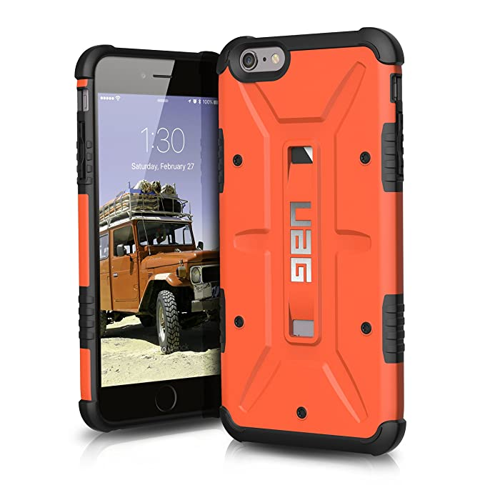 separation shoes 5e3ca d517f UAG iPhone 6 Plus / iPhone 6s Plus [5.5-inch screen] Feather-Light  Composite [RUST] Military Drop Tested Phone Case