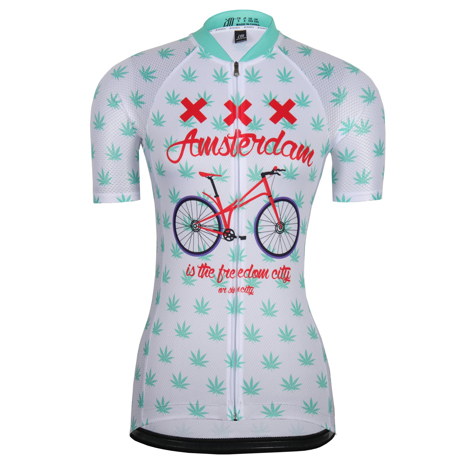 Women's Cycling Jersey Beautiful Bike Bicycle Clothing Shirt Jacket Summer (Asia-S, 29) by ZM