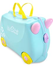 Trunki Ride-On Suitcase, Una The Unicorn, Aqua