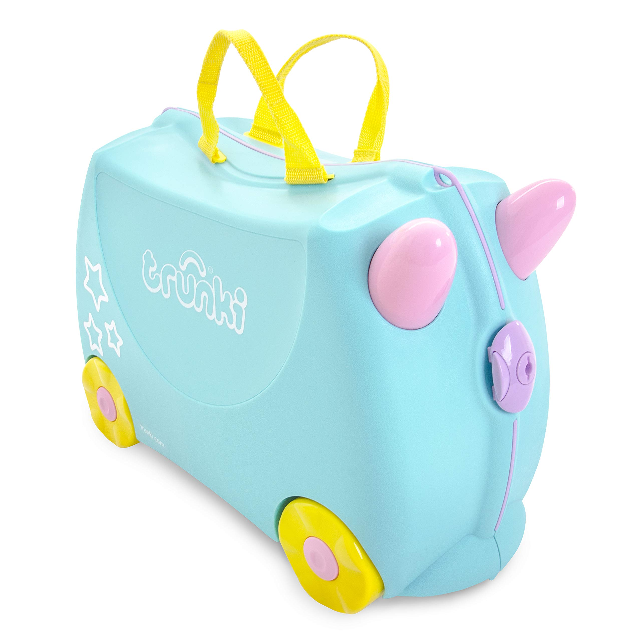 6d51db7260fc Trunki Original Kids Ride-On Suitcase and Carry-On Luggage - Una Unicorn (