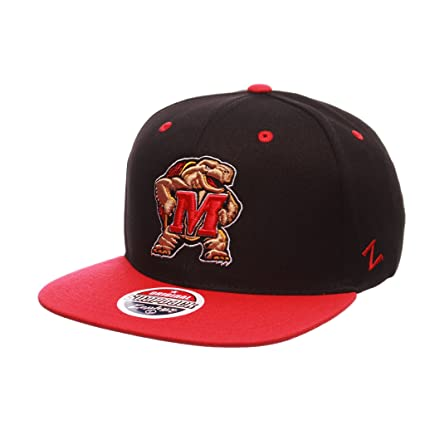 cheaper b18fa 0b449 Image Unavailable. Image not available for. Color  Zephyr Men s Maryland  Terrapins Z11 ZWOOL HAT ...
