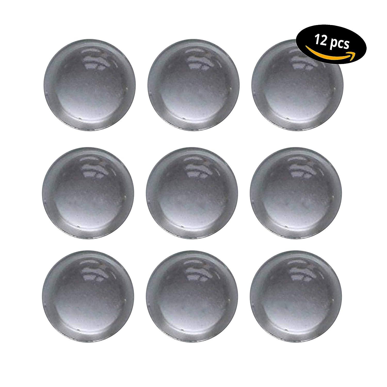 Elá stico de bú fer de 12 unidades / bisagra bú fer transparente/Muebles bú fer auto-adhesivos/, diá metro de 16,0 mm Altura = 7,9 mm/bisagra - bú fer Sordina/Goma diámetro de 16 9 mm/bisagra - búfer Sordina/Goma