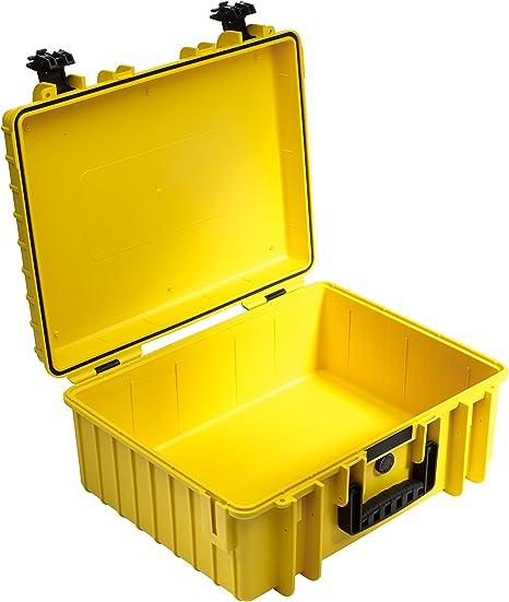 B&W Type 6000 Estuche Duro Amarillo: Amazon.es: Electrónica
