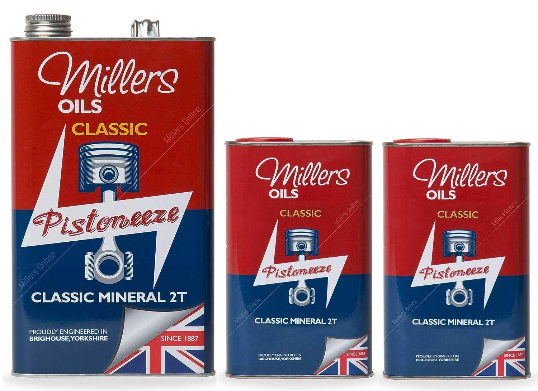 Millers Classic Mineral 2T, Aceite de 2 Tiempos, 7 litros: Amazon ...