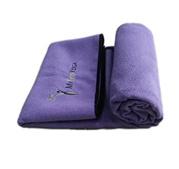 Amazon.com : Extra Large Deluxe Hot Yoga Towel | 2.5 x 6.25 ...