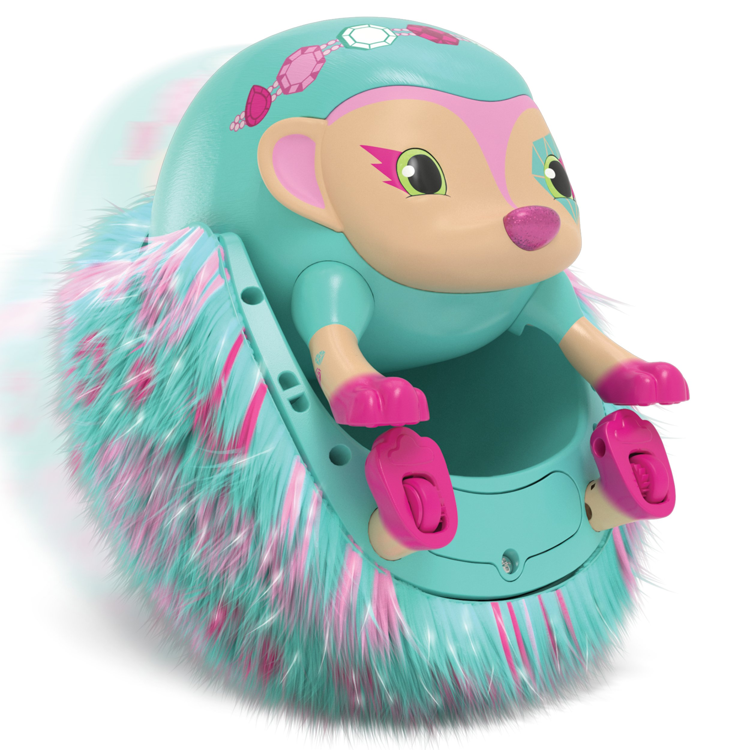 Zoomer Hedgiez Interactive Hedgehog with Lights, Sounds and Sensors, by Spin Master by Zoomer (Image #7)