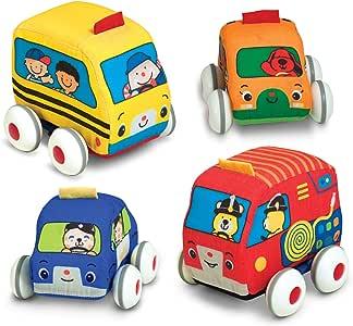 Melissa & Doug Pull-Back Vehicles