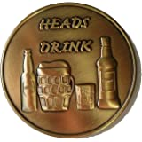 Party Coin, Drinking Smoking Party Coin, Drink Or Puff, Heads or Tails, Adult Party Game, Drinking/Smoking Challenge Coin