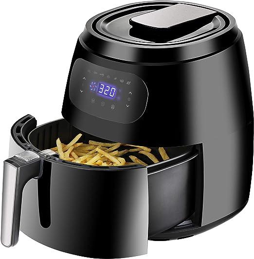ZENY Fryer Aire Digital 5.8 Qt 8-en-1 Pantalla táctil freidoras ...