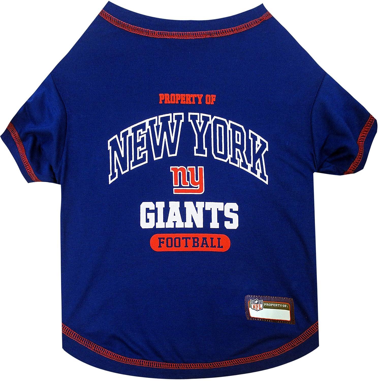 X-Small NFL New York Giants Dog T-Shirt, X-Small