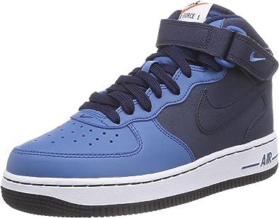 nike air force 1 nere e blu