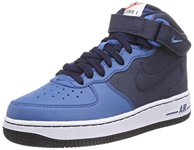 the latest 382f0 3db96 NIKE Air Force 1 Mid (Gs), Boys  Low-Top Sneakers
