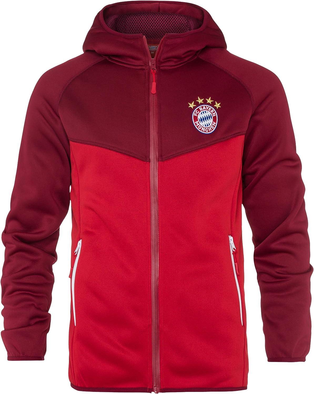 FC Bayern M/ünchen Fanartikel Jacke Funktionsfleecejacke Gr/ö/ße L