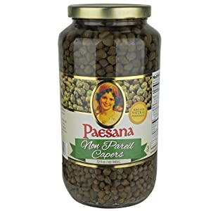Paesana Non Pareil Capers - 32 oz - Packed in the USA