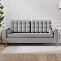 Everlane Home Lynnwood Upholstered Sofa with Square Arms Deals