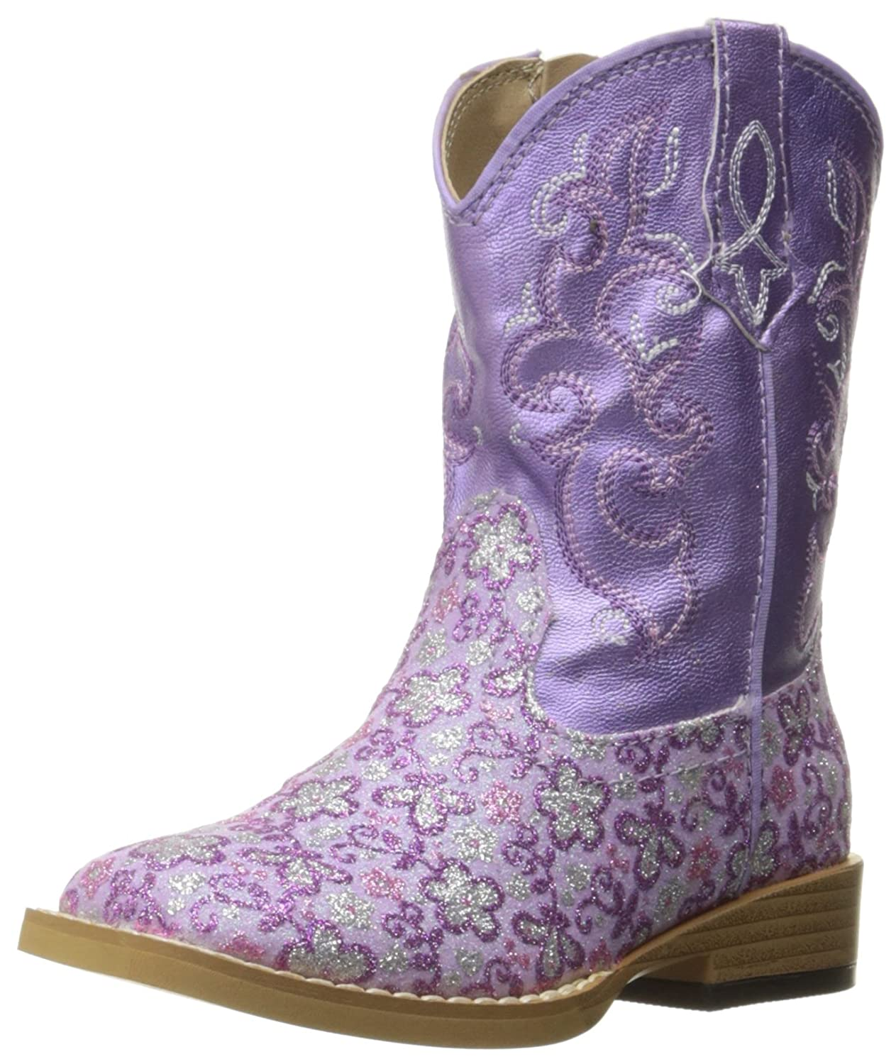 amazon com roper lavender western boot toddler boots