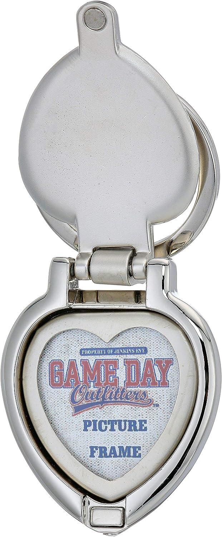 NCAA Auburn Tigers Metal Heart Locket Keychain
