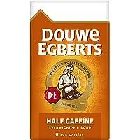 Douwe Egberts Filterkoffie Half Cafeïne (1.5 Kilogram, Intensiteit 05/09, Medium Roast Koffie), 6 x 250 Gram