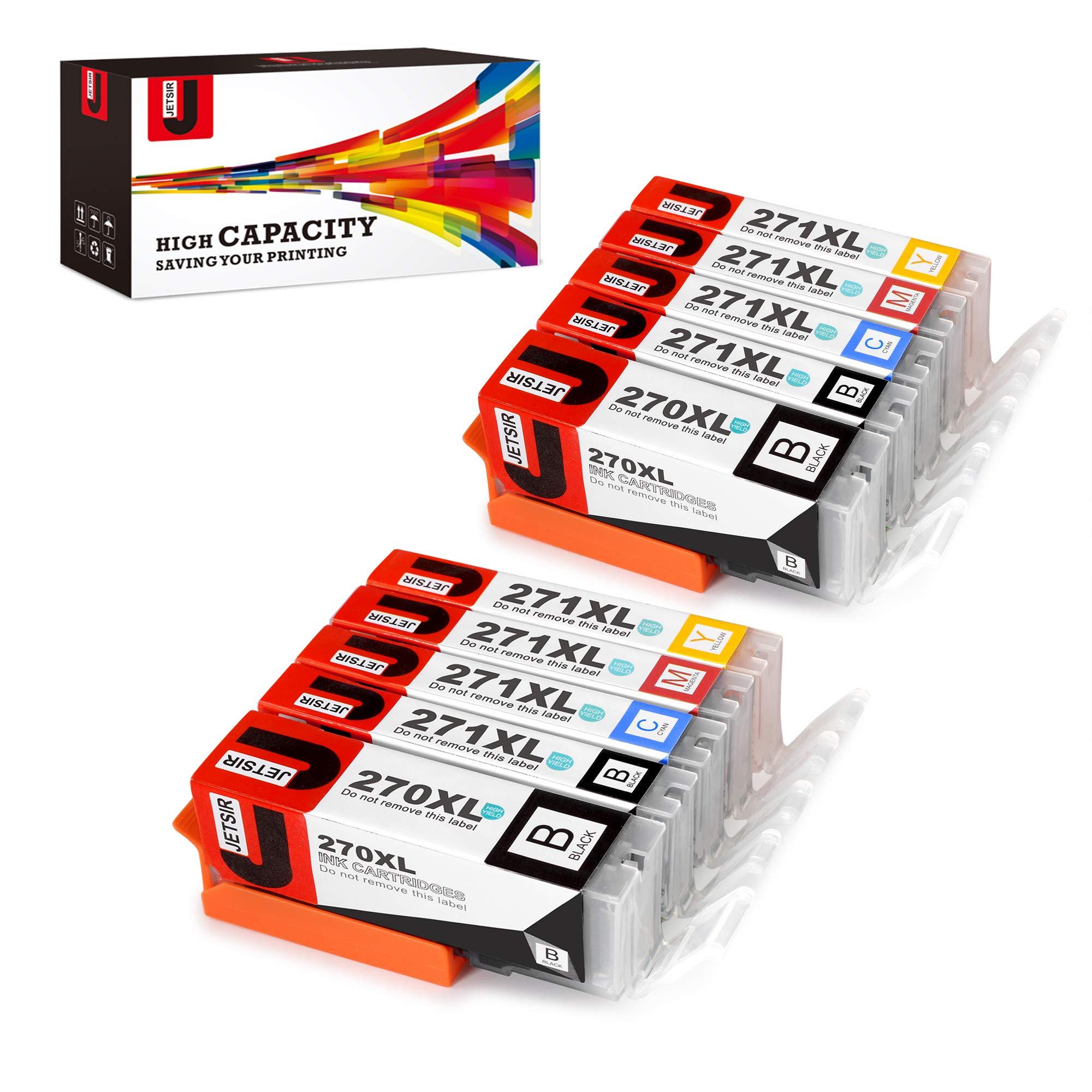 Cartucho Alternativo Canon PGI-270 XL CLI-271 XL10 Un. JETSI