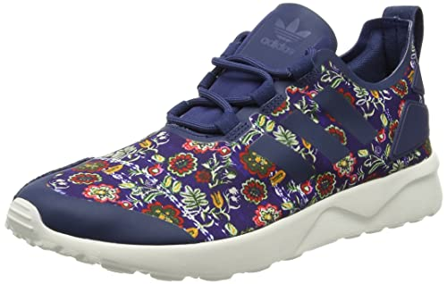 f787132c99519 adidas Originals Women s Zx Flux Adv Verve W Stdars and Cwhite Leather  Sneakers - 4 UK