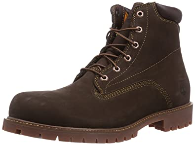 547d12b7 Timberland 6 inch Basic Alburn, Men's Boots, Brown Nubuck, 6.5 UK (40