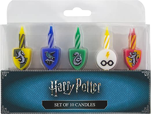 Astounding Cinereplicas Harry Potter Candles Set Of 10 Birthday Amazon Personalised Birthday Cards Paralily Jamesorg