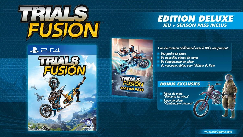 Trials Fusion - édition deluxe [Importación Francesa]: Amazon.es: Videojuegos